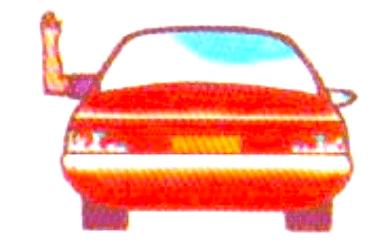 راننده قصد دارد به سمت راست گردش نماید