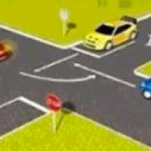تابلو رعایت حق تقدم رانندگی نمونه سوالات آیین نامه
