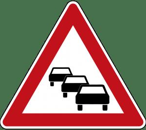 تابلو های راهنمایی و رانندگی تراکم ترافیک