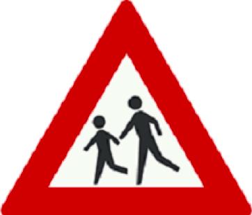 عبور کودکان ممنوع