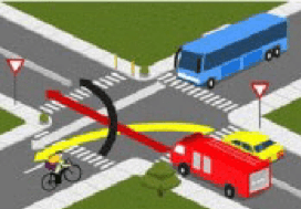 سوالات حق تقدم در تقاطع ها