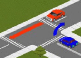 نمونه سوالات حق تقدم رانندگی