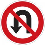 تابلوهای راهنمایی و راندگی دور زدن ممنوع