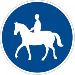 فقط عبور اسب سوار مجاز است