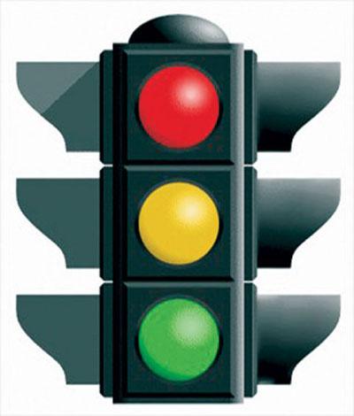آموزش رانندگی برای مبتدیان چراغ راهنمایی و رانندگی