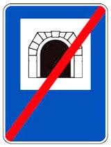 تابلو پایان تونل